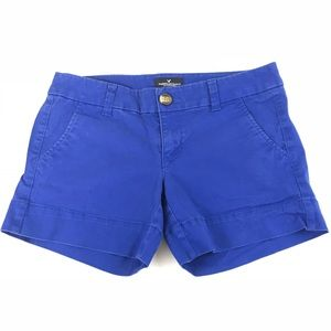 AEO American Eagle Womens Short Shorts Size 2 Blue